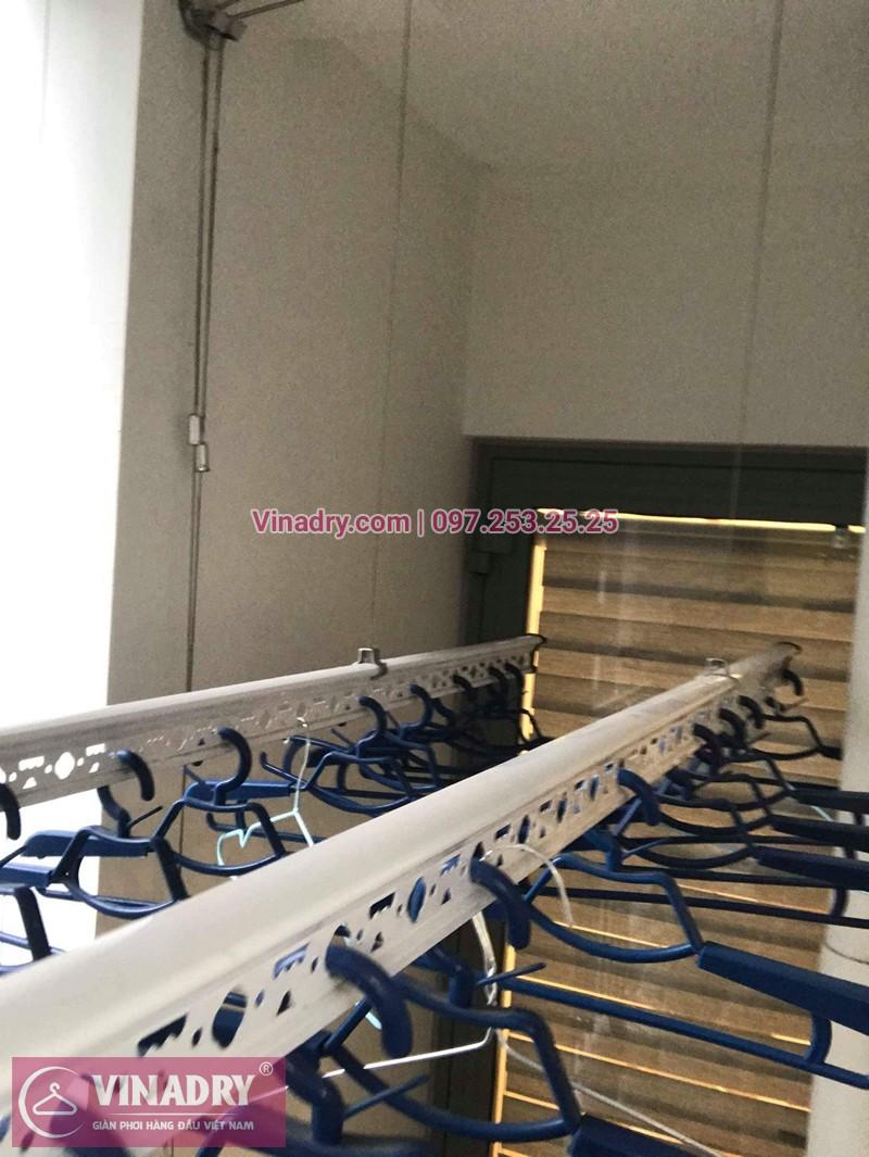 Lắp giàn phơi thông minh Hòa Phát nhà chị Hoa ở tòa Park 11 Park Hill