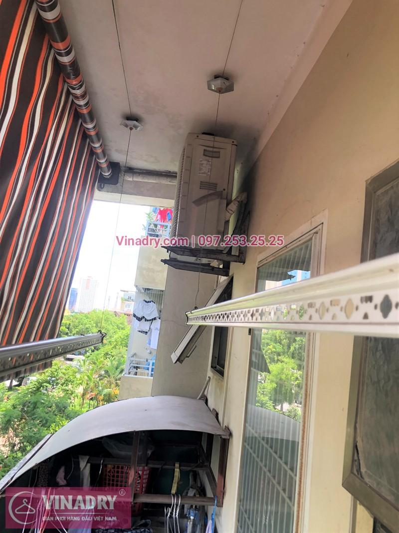 Sửa giàn phơi thông minh Hà Đông ở KĐT Văn Quán nhà chị My tòa CT8B