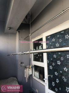 Sửa giàn phơi thông minh Hà Đông ở chung cư CT4 Xa La nhà chị Họa