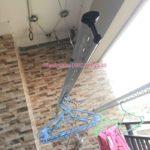 Sửa giàn phơi thông minh nhà chị Đan ở chung cư 283 Khương Trung