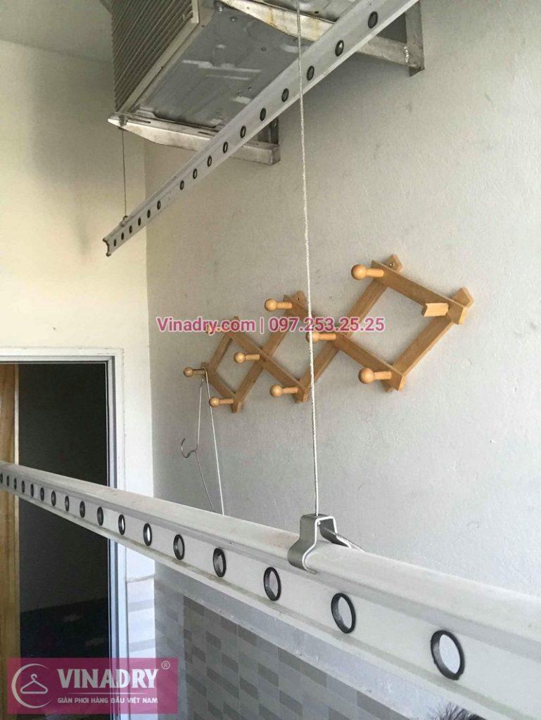 Sửa giàn phơi thông minh nhà chị Hoàn ở chung cư OCT2 Vialacera Xuân Phương
