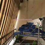 Sửa giàn phơi thông minh bị đứt cáp nhà chị Lê ở cc 18T2 Lê Văn Lương