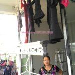Sửa giàn phơi thông minh nhà cô Thìn ở ngõ 75 Tư Đình, Long Biên
