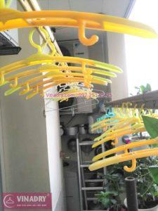 Thay dây cáp giàn phơi thông minh nhà anh Du ở chung cư Nam Đô, Hoàng Mai