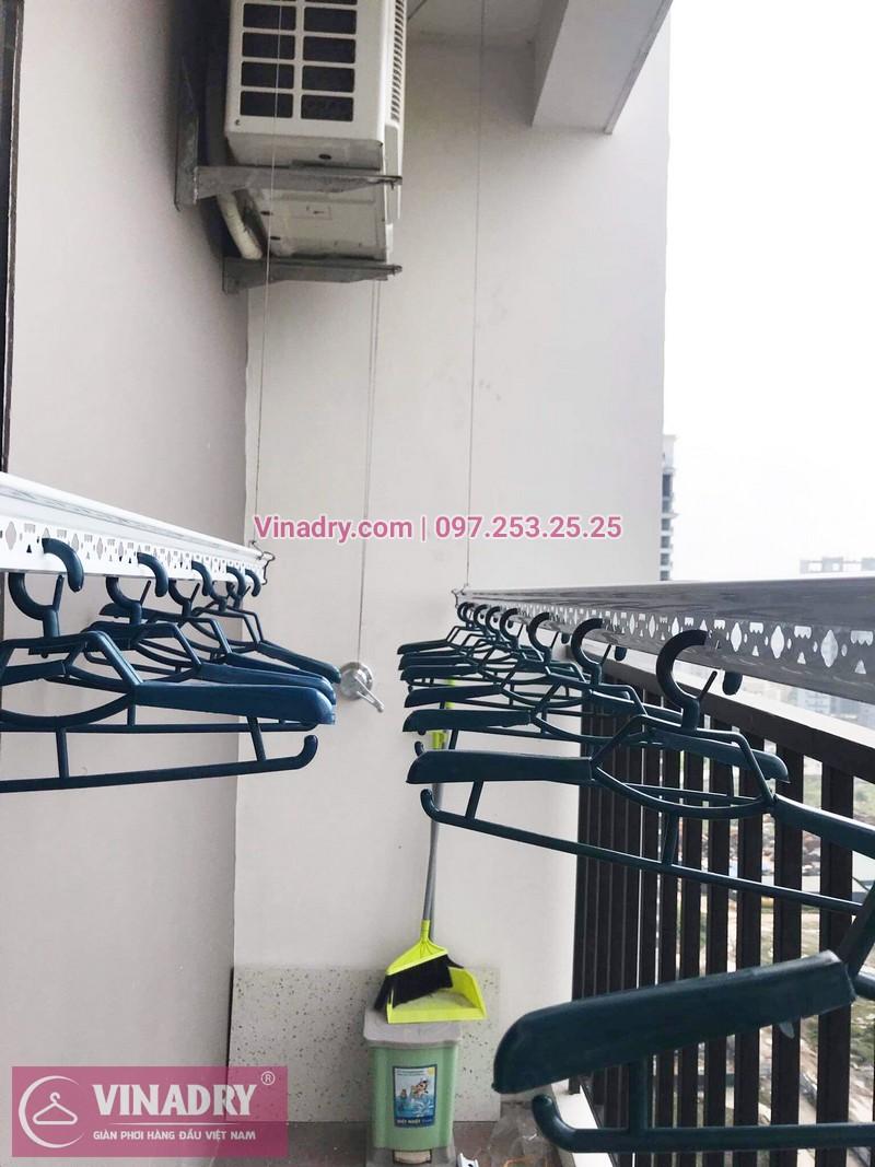 Lắp giàn phơi thông minh tại chung cư Lạc Hồng Westlake, Tây Hồ, Hà Nội - 01