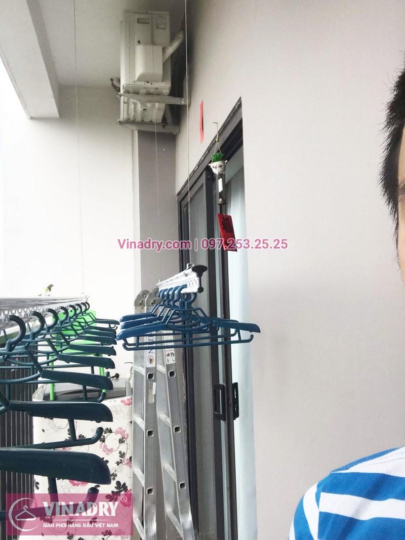 Lắp giàn phơi thông minh tại chung cư Lạc Hồng Westlake, Tây Hồ, Hà Nội - 03