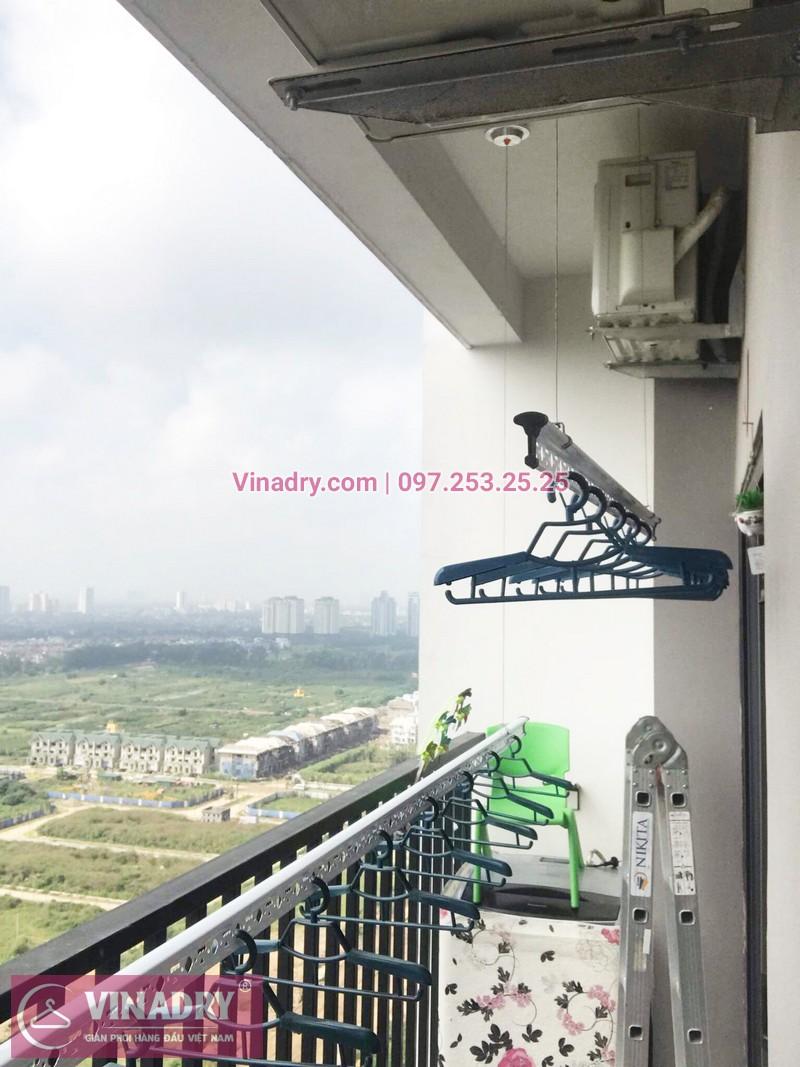 Lắp giàn phơi thông minh tại chung cư Lạc Hồng Westlake, Tây Hồ, Hà Nội - 04