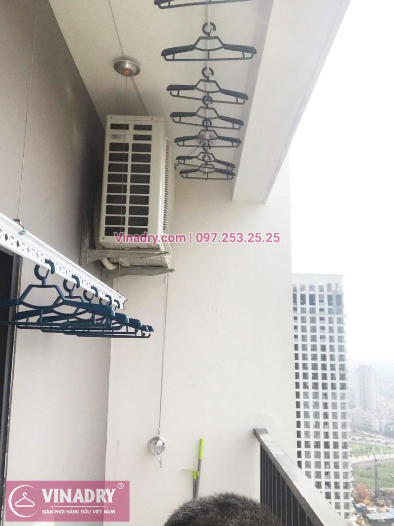 Lắp giàn phơi thông minh tại chung cư Lạc Hồng Westlake, Tây Hồ, Hà Nội - 07