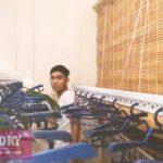 Lắp giàn phơi quần áo tại Hà Đông nhà chị Hân, chung cư viện 103