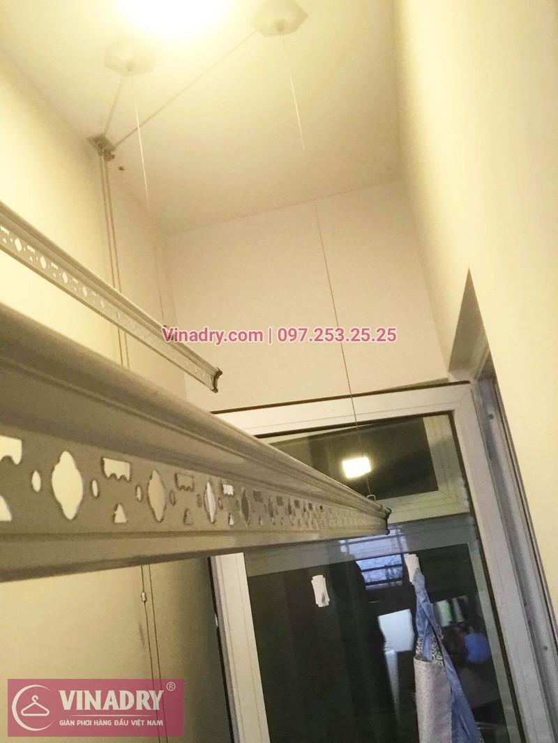 Sửa giàn phơi thông minh tại chung cư Hòa Bình Green nhà chị Hạnh- 05