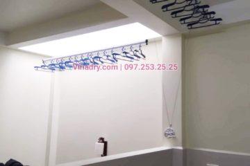 Lắp giàn phơi tại Thanh Xuân giá rẻ nhà chị Minh, ngõ 109 Hoàng Ngân - 01