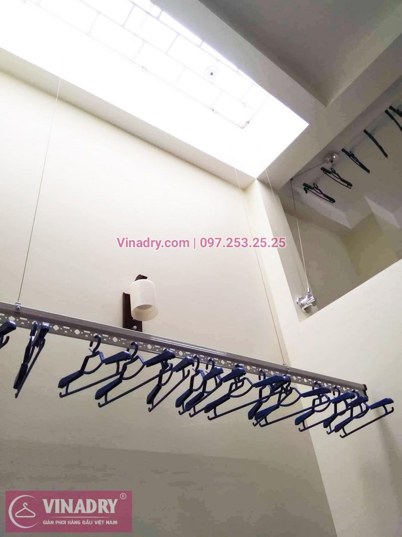 Lắp giàn phơi tại Thanh Xuân giá rẻ nhà chị Minh, ngõ 109 Hoàng Ngân - 06