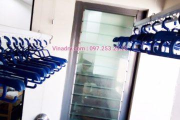 Lắp giàn phơi ở Hà Đông giá rẻ nhà chị Nga, tòa B, Mulberry Lane Mỗ Lao - 06