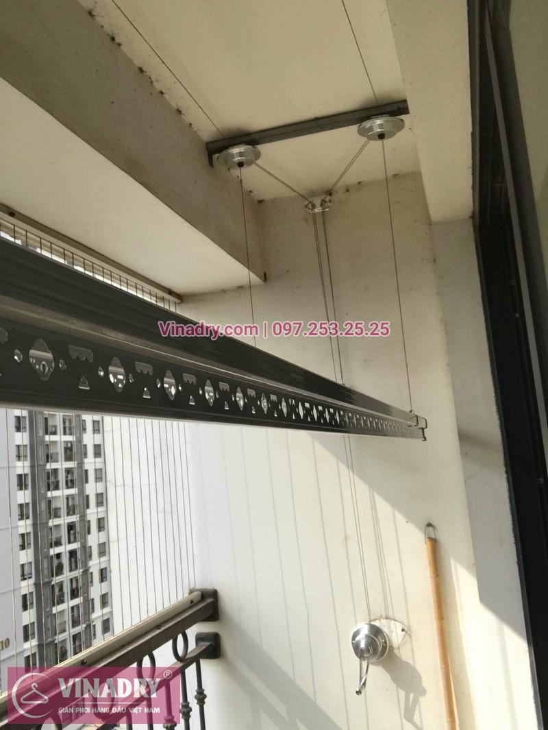 Lắp giàn phơi thông minh Hòa Phát tại Times City nhà anh Bình, Tòa T8 - 04