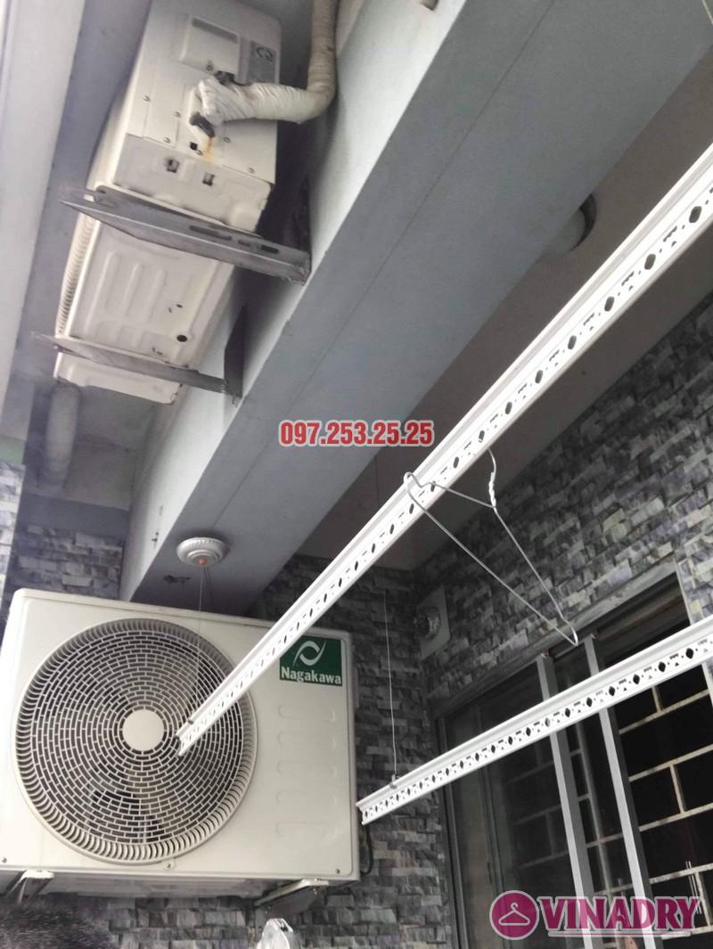 Sửa giàn phơi quần áo thông minh nhà chị Hậu, chung cư HH1 Linh Đàm - 04