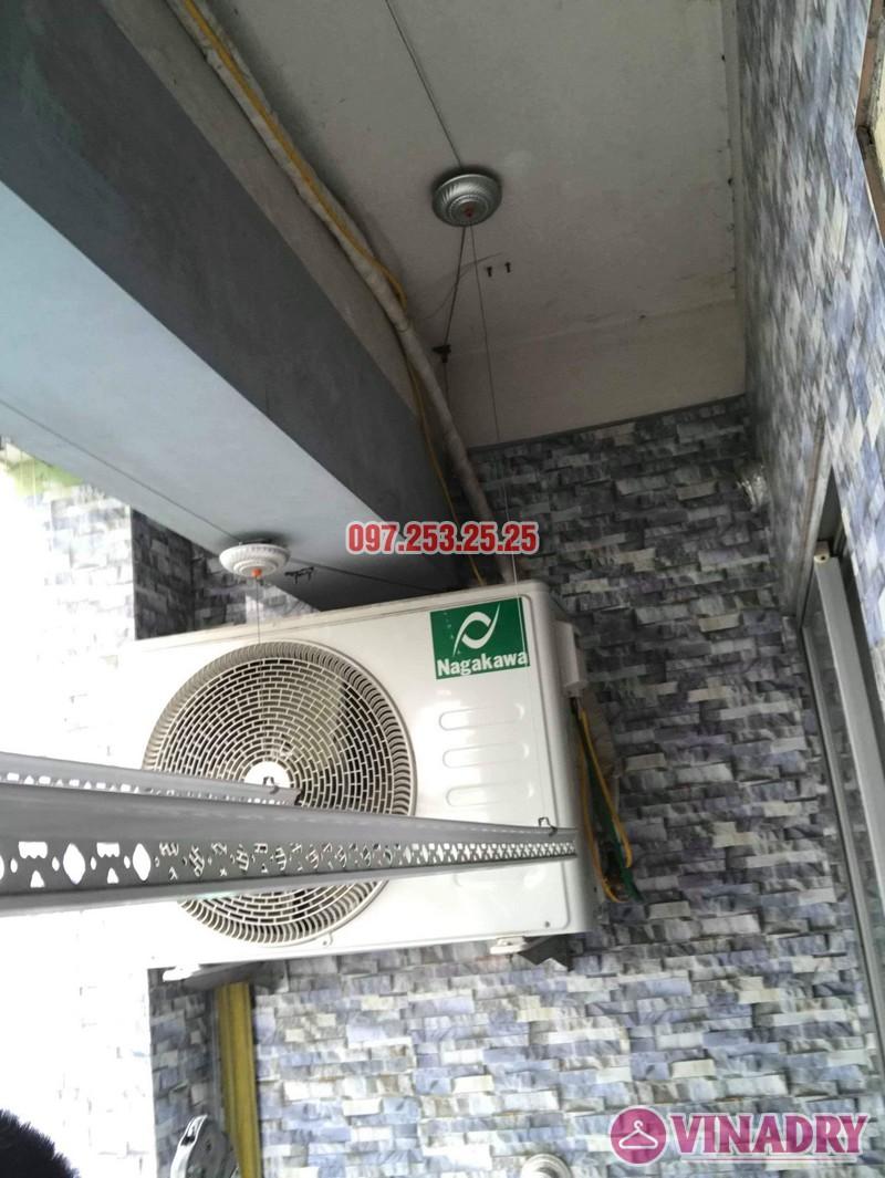 Sửa giàn phơi quần áo thông minh nhà chị Hậu, chung cư HH1 Linh Đàm - 05