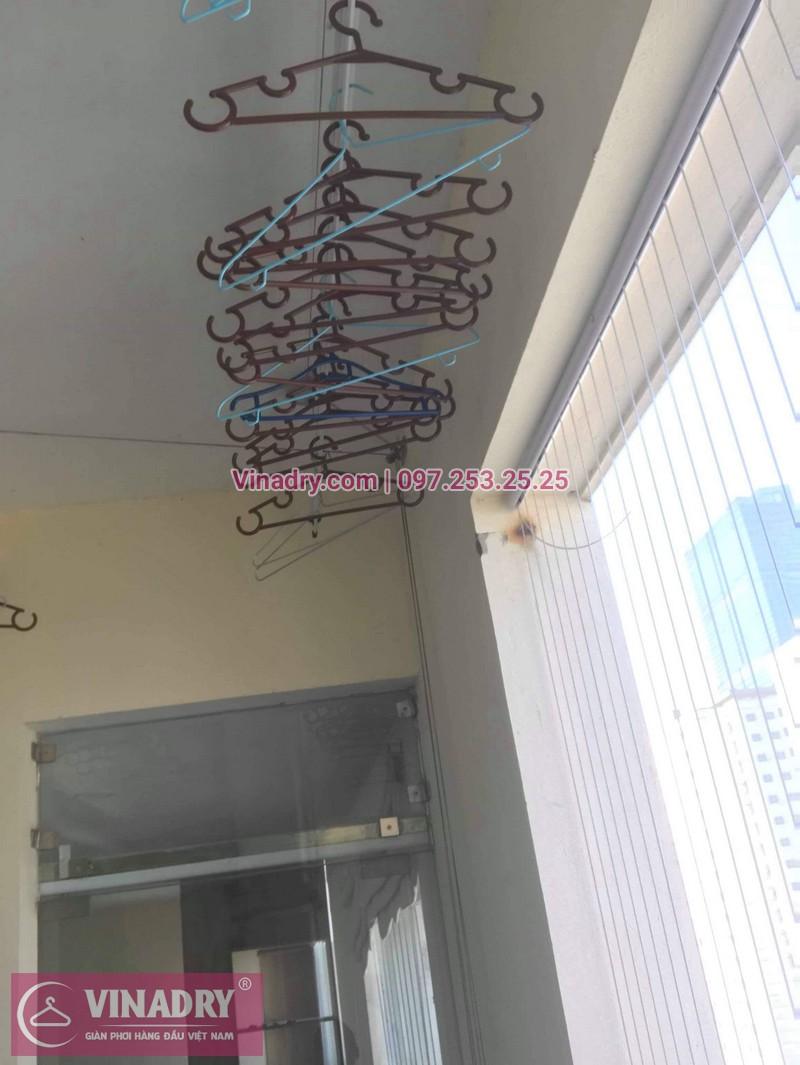 Sửa giàn phơi giá rẻ tại Cầu giấy nhà chị Hạnh, chung cư 99 Mạc Thái Tổ - 02