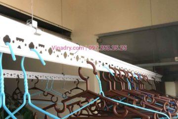 Sửa giàn phơi giá rẻ tại Cầu giấy nhà chị Hạnh, chung cư 99 Mạc Thái Tổ - 03