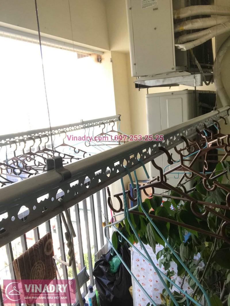 Sửa giàn phơi giá rẻ tại Cầu giấy nhà chị Hạnh, chung cư 99 Mạc Thái Tổ - 05