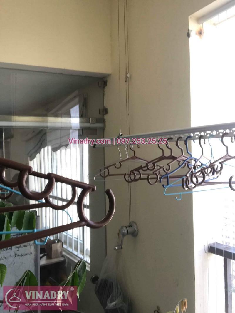 Sửa giàn phơi giá rẻ tại Cầu giấy nhà chị Hạnh, chung cư 99 Mạc Thái Tổ - 07