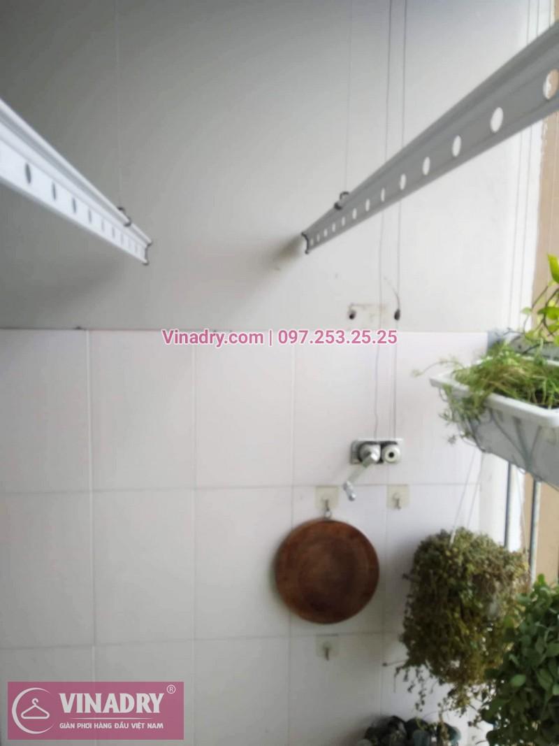 Sửa giàn phơi Hà Đông giá rẻ nhà chị Hảo, chung cư CT2 Xuân Mai Reverside - 01