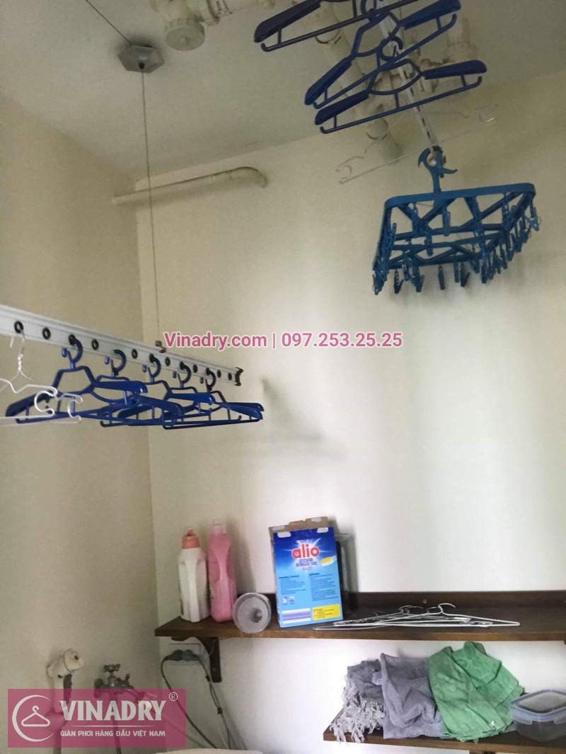 Sửa giàn phơi thông minh Hà Đông nhà chị Thảo, chung cư Hyundai Hillstate - 01