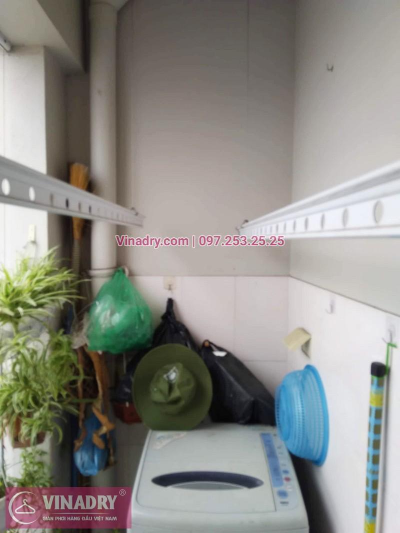 Sửa giàn phơi Hà Đông giá rẻ nhà chị Hảo, chung cư CT2 Xuân Mai Reverside - 03