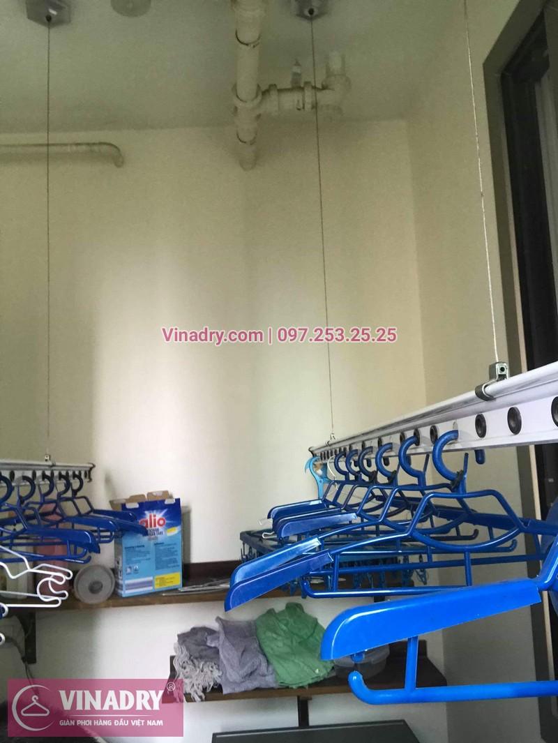 Sửa giàn phơi thông minh Hà Đông nhà chị Thảo, chung cư Hyundai Hillstate - 05