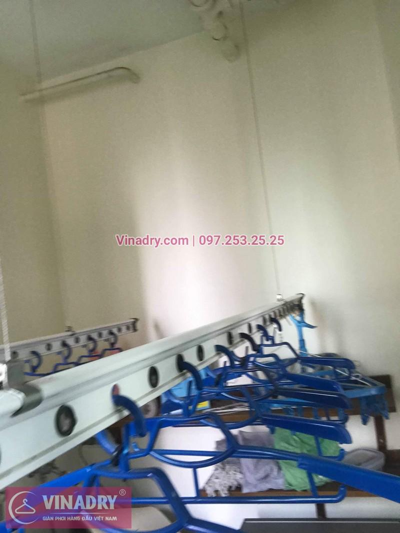 Sửa giàn phơi thông minh Hà Đông nhà chị Thảo, chung cư Hyundai Hillstate - 06