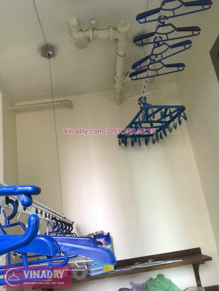 Sửa giàn phơi thông minh Hà Đông nhà chị Thảo, chung cư Hyundai Hillstate - 07