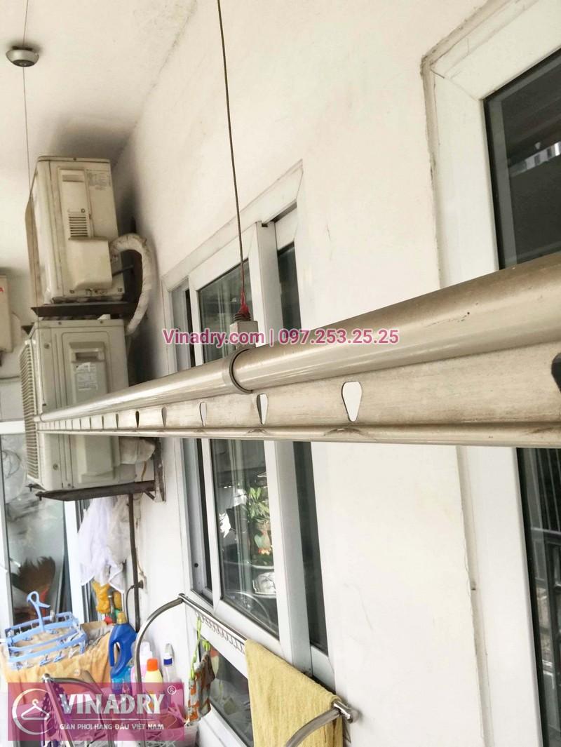 Sửa giàn phơi thông minh tại Hà Đông giá rẻ nhà anh Đào - 05