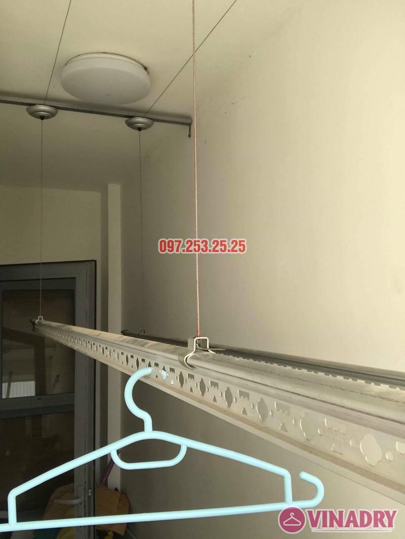 Thay dây giàn phơi thông minh giá rẻ tại Park Hill nhà cô Hải, Park 5 - 05