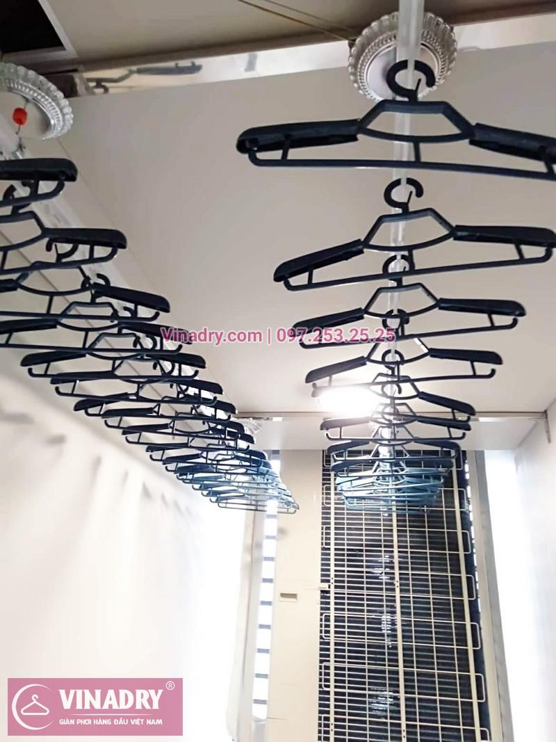 Các bộ phận của giàn phơi Vinadry không chỉ đẹp về ngoại hình mà còn được tối ưu về công năng sử dụng