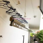 Lắp giàn phơi Thường Tín miễn phí: bộ Hòa Phát 701 nhà chị Lan, xã Ninh Sở