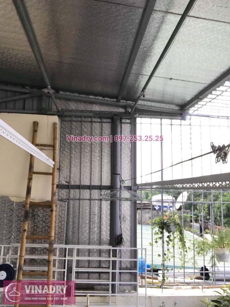Lắp giàn phơi thông minh Hòa Phát  tại Ba Đình nhà chị Tú, 210 Giảng Võ - 02