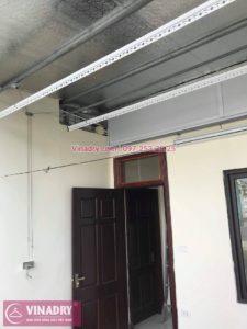 Lắp giàn phơi thông minh Hòa Phát HP99B tại Ba Đình nhà chị Tú, 210 Giảng Võ - 08