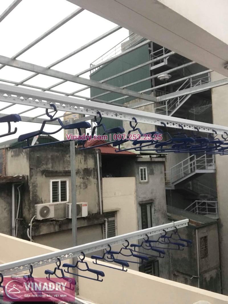 Hình ảnh giàn phơi thông minh Hòa Phát HP701 lắp đặt tại nhà chị Oanh, Đống Đa, Hà Nội - 01