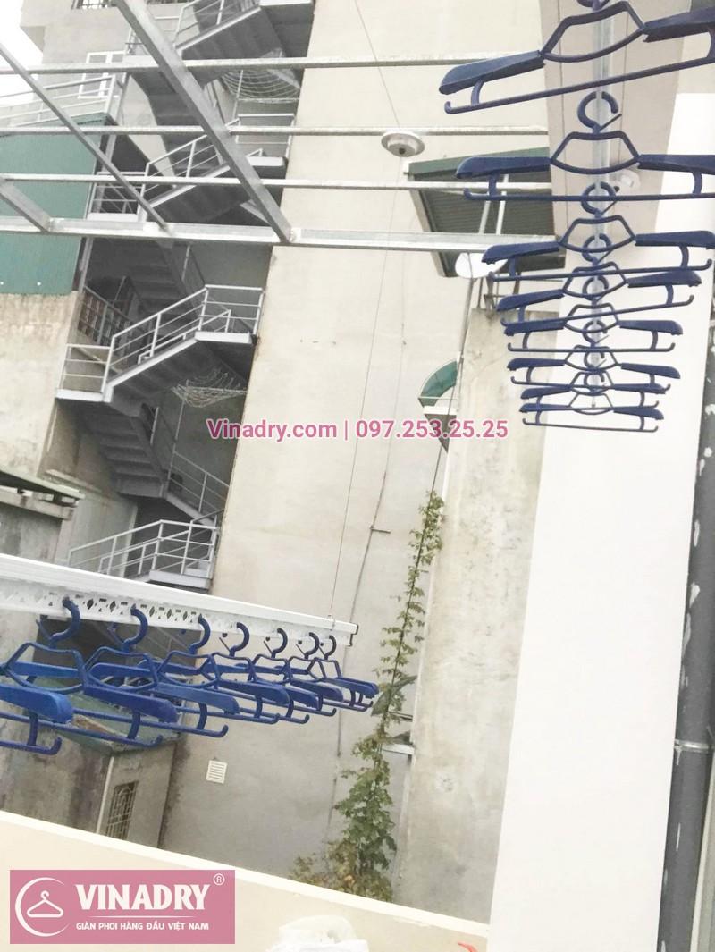Hình ảnh giàn phơi thông minh Hòa Phát HP701 lắp đặt tại nhà chị Oanh, Đống Đa, Hà Nội - 04