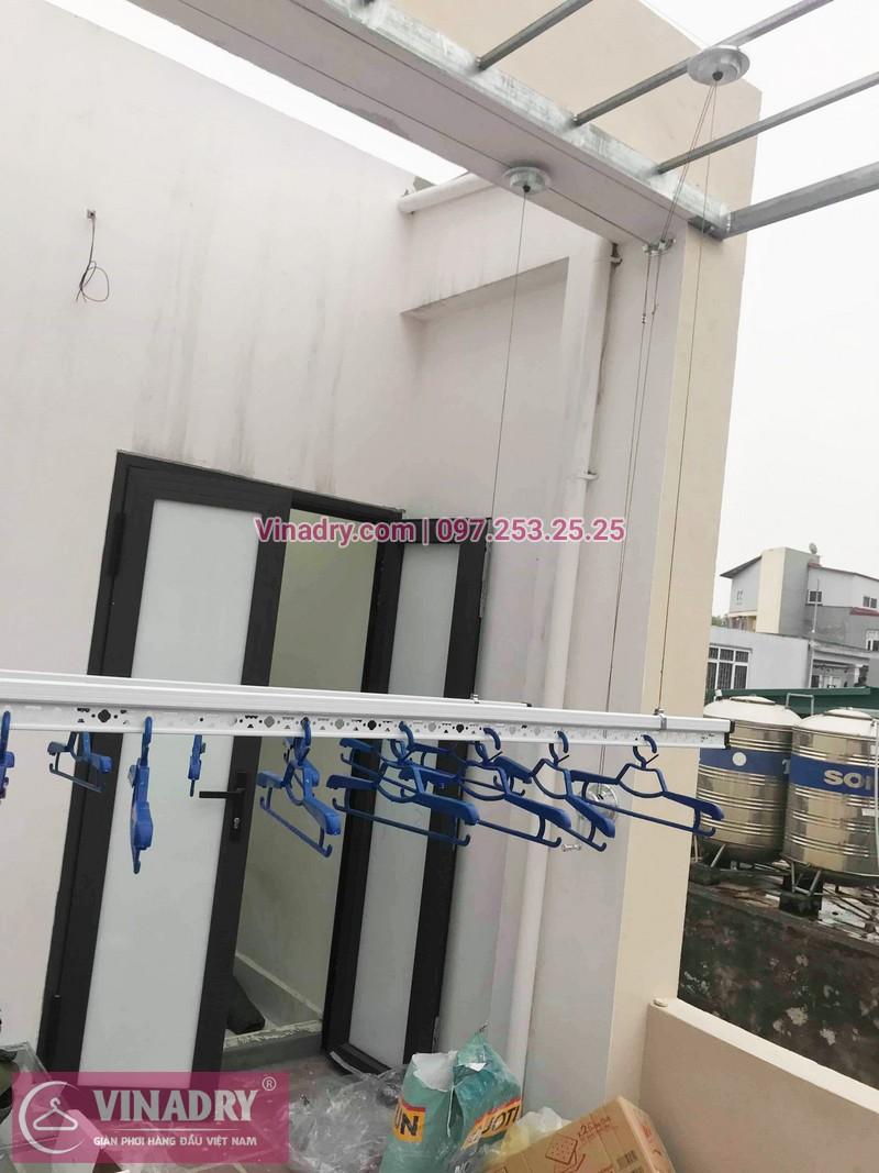 Hình ảnh giàn phơi thông minh Hòa Phát HP701 lắp đặt tại nhà chị Oanh, Đống Đa, Hà Nội - 06