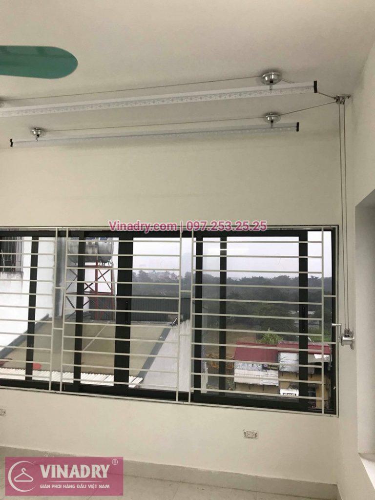 Lắp giàn phơi Hòa Phát Star 701 cho trần bê tông tại Hà Nội - 03