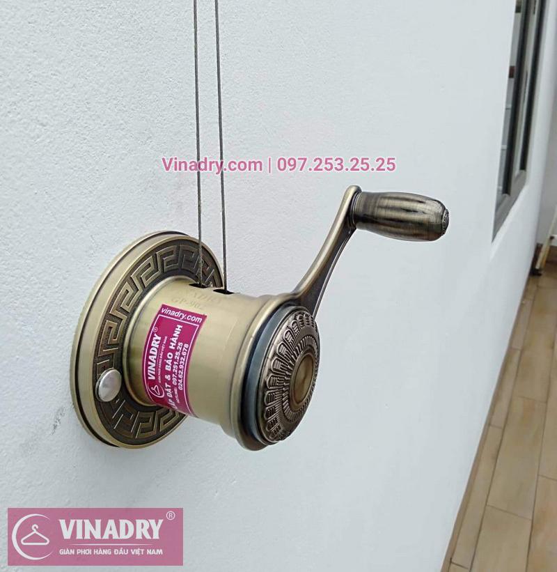 Tem giàn phơi Vinadry chính hãng luôn gắn kèm theo từng sản phẩm