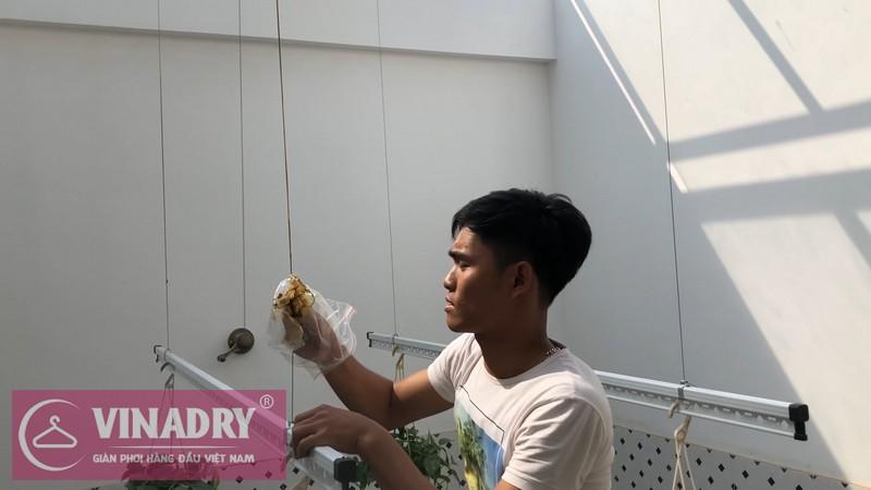 Mua giàn phơi Vinadry được vận chuyển, lắp đặt miễn phí