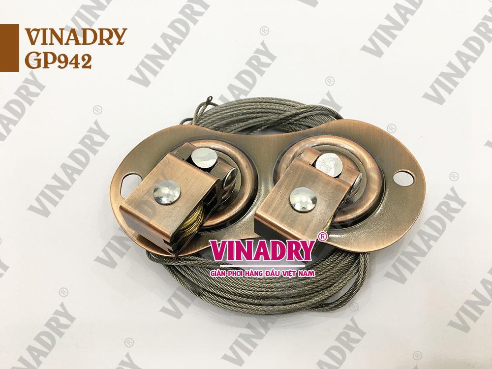 Dẫn hướng và dây cáp giàn phơi VINADRY GP942