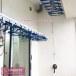 Lắp giàn phơi thông minh Bắc Ninh, ảnh thực tế tại chung cư Trầu Cau Garden