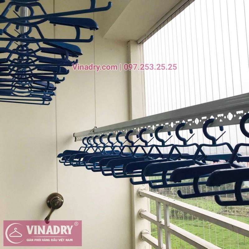 Lắp giàn phơi thông minh Bắc Ninh nhà anh Lực, chung cư Trầu Cau Garden - 04