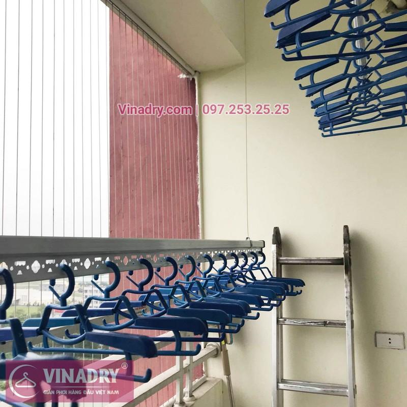 Lắp giàn phơi thông minh Bắc Ninh nhà anh Lực, chung cư Trầu Cau Garden - 05
