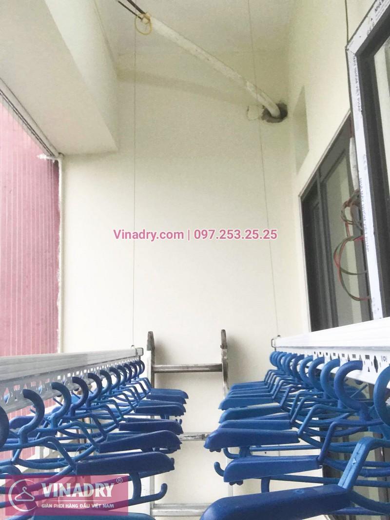 Lắp giàn phơi thông minh Bắc Ninh nhà anh Lực, chung cư Trầu Cau Garden - 08