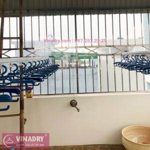 Lắp giàn phơi thông minh Hoàn Kiếm nhà chị Ngoan, bộ Vinadry gp941 cao cấp - 01