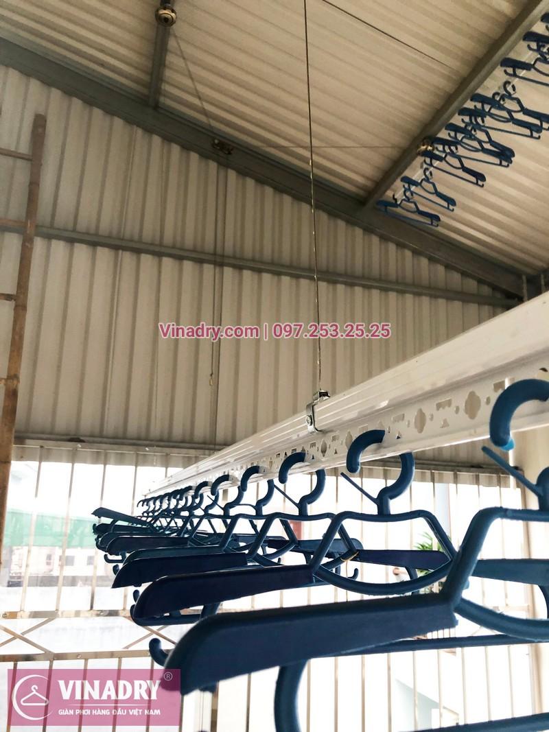 Lắp giàn phơi thông minh Hoàn Kiếm nhà chị Ngoan, bộ Vinadry gp941 cao cấp - 05