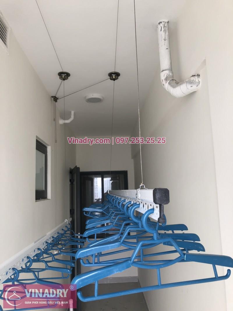 Lắp giàn phơi thông minh tại chung cư bộ công an, 43 Phạm Văn Đồng - 04